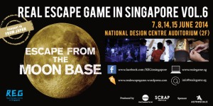 escape from the moon base - singapore