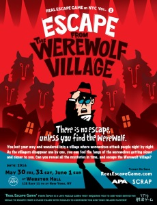 escape from the werewolf village - nyc usa
