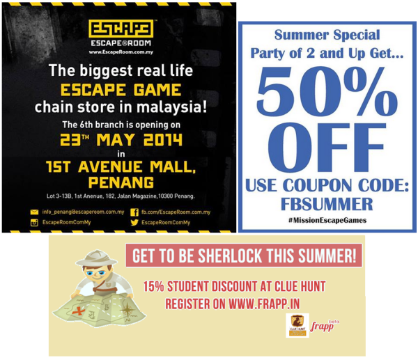 discounts - 25th may