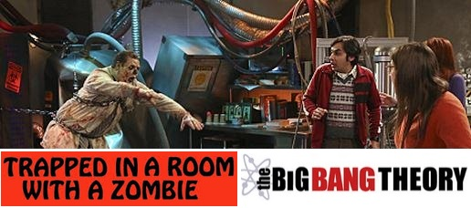 Trapped with Zombies! A Big Bang Theory episode – Season 8, Episode ...
